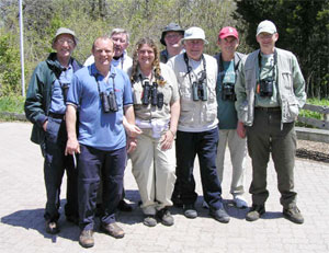 Canada 2005 tour group