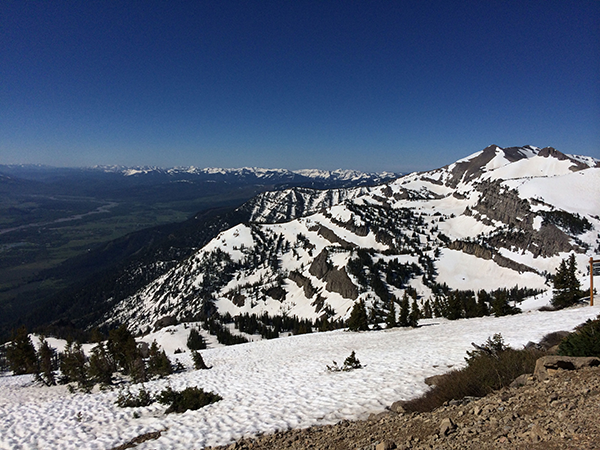 Jackson Hole from Rendevous Mountain