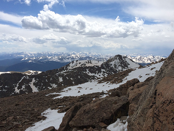 View from Mount Evans
