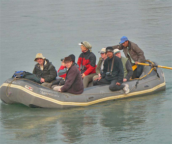 Birdfinders on the Koshi River