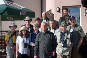 The Birdfinders group at Bialowieza