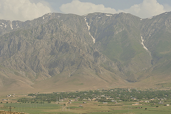 View from Takhtakaracha